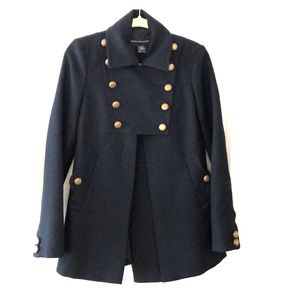 French Connection Military Pea Coat